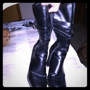Womens Black Boots Size 9